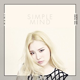 Lim Kim 3rd mini-Album Cover