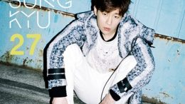 Kim Sunggyu 2nd mini-Album Cover