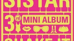 SISTAR 3rd mini-Album Cover