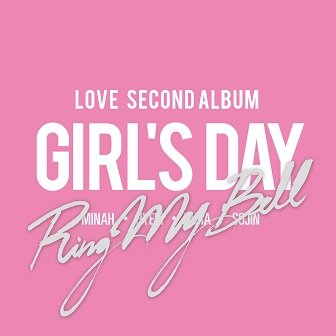 Girl's Day 2nd Album Cover