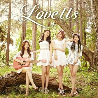 LoveUs 1st Single Cover