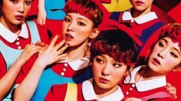 Red Velvet 1st Album Cover