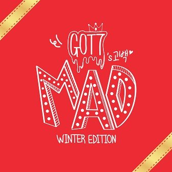 GOT7 MAD Winter Edition Cover