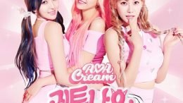 AOA Cream 1st Single Cover