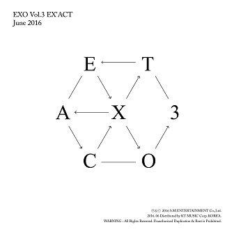 EXO 3rd Album Cover
