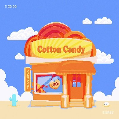JBASS Cotton Candy Cover