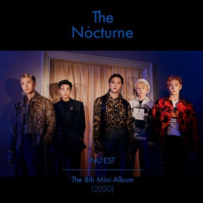 NU'EST The Nocturne 8th mini-Album Cover