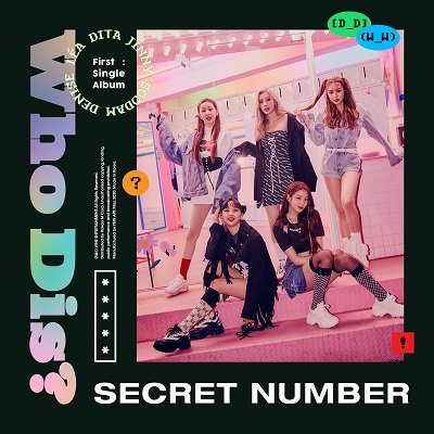 SECRET NUMBER Debut Single Cover
