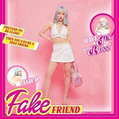 Ash-B Fake Friend Cover