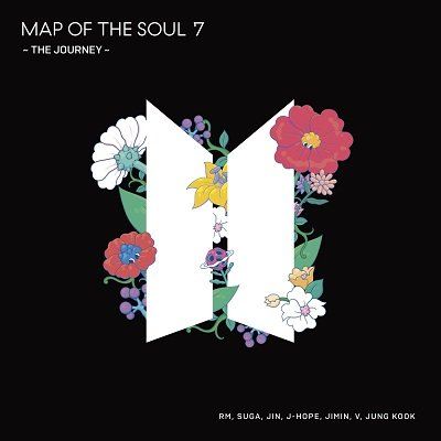 BTS Map of Soul & The Journey Cover Art