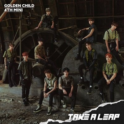 Golden Child 4th Mini Album Take A Leap Cover