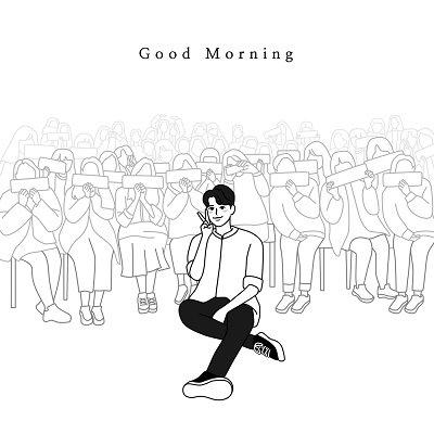 Ji Jin Seok Good Morning Cover