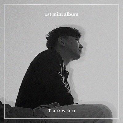 Taewon 1st Mini Album Cover