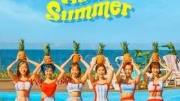 APRIL Summer Special Album Hello Summer Cover