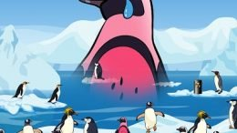 FatDoo Pink Penguin Cover