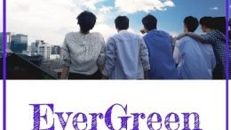 THE MAN BLK 2nd Mini Album EverGreen Cover