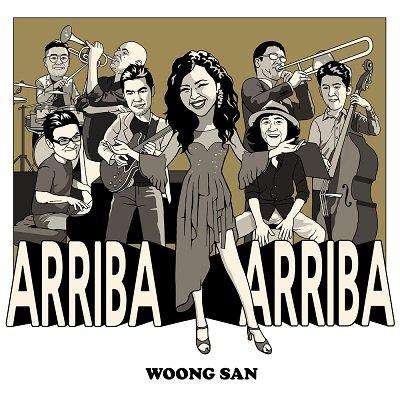 Woong San Arriba Arriba Cover