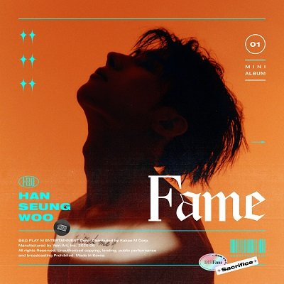 Han Seung Woo 1st Mini Album Fame Cover