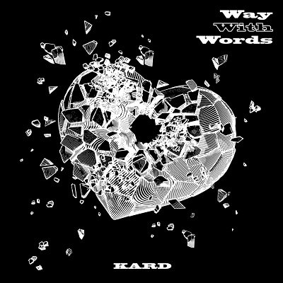 KARD 1st Single Album Way With Words Cover