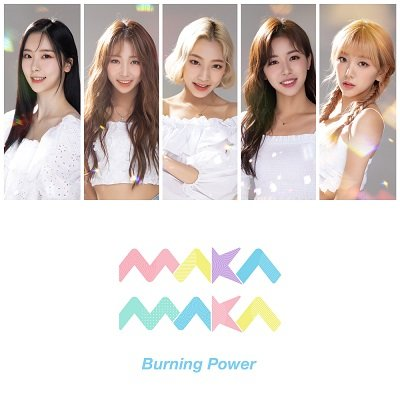 Maka Maka Burning Power Cover