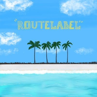 ROUTE LABEL By the Sea Cover
