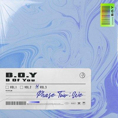 BOY 2nd Mini Album Cover