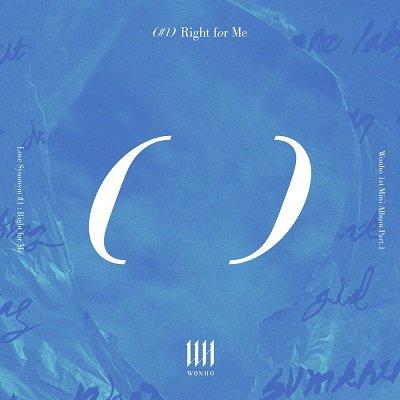 WONHO 1st Mini Album Cover