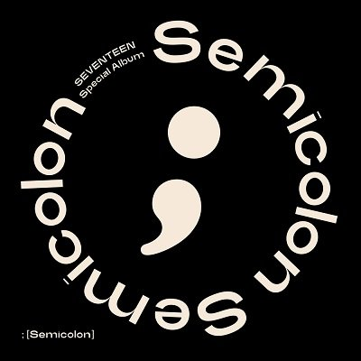SEVENTEEN Special Album Semicolon Cover
