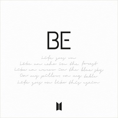 BTS BE Deluxe Cover