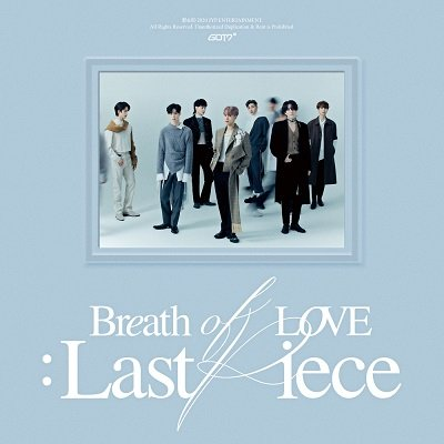 GOT7 4th Album Breath of Love Cover