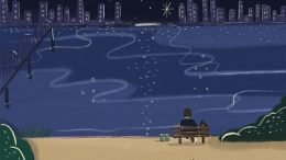BEN Lonely night Cover