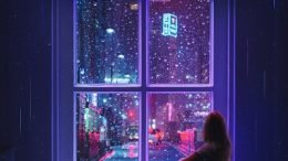 YEZI Raining All Night Cover