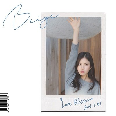 BEIGE LOVE BLOSSOM Cover
