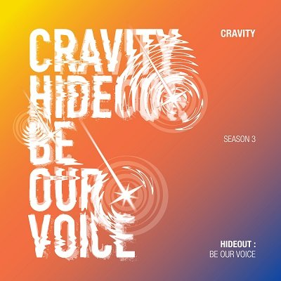 CRAVITY CRAVITY SEASON 3 HIDEOUT BE OUR VOICE Album Cover