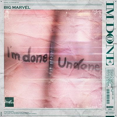 Big Marvel Im Done Cover
