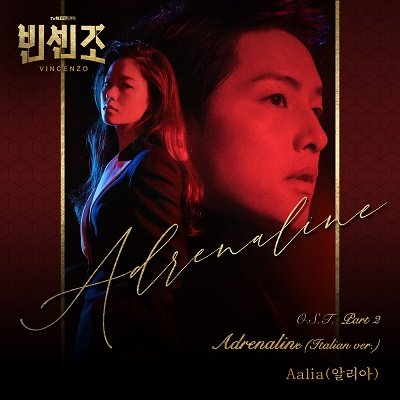Aalia Vincenzo OST Part 2 Cover