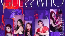 ITZY GUESS WHO Cover