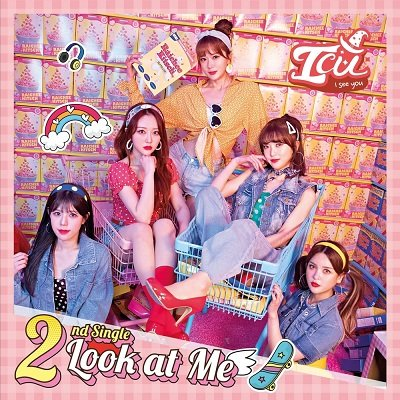 ICU LOOK AT ME Cover
