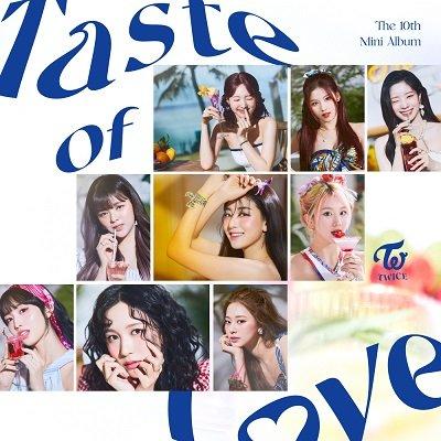 TWICE 10th Mini Album Taste of Love Cover