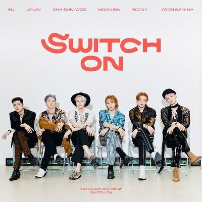 ASTRO SWITCH ON Album Cover