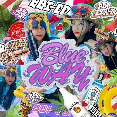 BBI-DDACK BLUE WAY Cover