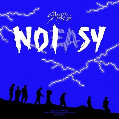 Stray Kids 2nd Album NOEASY Cover